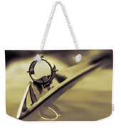 1964 Ford Galaxie 500 Xl Hood Ornament - Sepia Weekender Tote Bag
