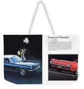 1964 Ford Mustang-08-09 Weekender Tote Bag