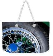1964 Morgan 44 Spare Tire Weekender Tote Bag
