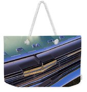 1964 Oldsmobile Jetstar Hood Ornament Weekender Tote Bag