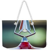 1964 Plymouth Hood Ornament Weekender Tote Bag