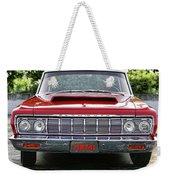 1964 Plymouth Savoy Hemi  Weekender Tote Bag