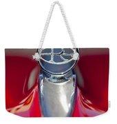 1965 Buick Riviera Hood Ornament Weekender Tote Bag
