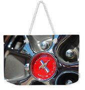 1965 Classic Ford Mustang Rim Color Weekender Tote Bag