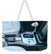 1965 Corvette Hurst Shifter Weekender Tote Bag