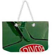 1965 Divco Milk Truck Hood Ornament Weekender Tote Bag