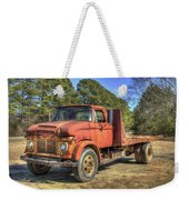 1965 Ford F600 Snub Nose Commercial Truck Weekender Tote Bag