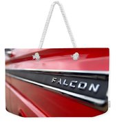 1965 Ford Falcon Name Plate Weekender Tote Bag