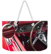 1965 Ford Mustang Fastback Dash Weekender Tote Bag