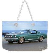 1965 Ford Mustang Fastback II Weekender Tote Bag