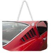 1965 Mustang Fastback Weekender Tote Bag