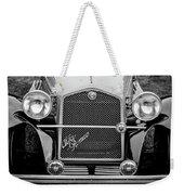 1966 Alfa Romeo Quattro Route 4r -0134bw Weekender Tote Bag