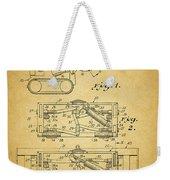 1966 Bulldozer Patent Weekender Tote Bag