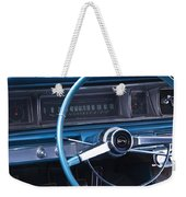 1966 Chevrolet Impala Dash Weekender Tote Bag
