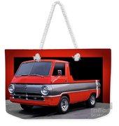 1966 Dodge A100 Pickup Weekender Tote Bag