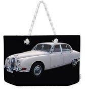 1966 Jaguar 3.8 S Type Weekender Tote Bag
