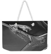 1966 Jaguar Hood Ornament 2 Weekender Tote Bag