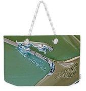 1966 Jaguar Hood Ornament Weekender Tote Bag