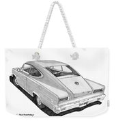 1966 Marlin By Nash Weekender Tote Bag