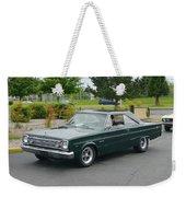 1966 Plymouth Belvedere Rapp Weekender Tote Bag
