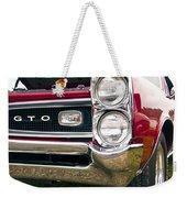 1966 Pontiac Gto Grill Weekender Tote Bag