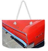 1966 Pontiac Gto Tail Lights And Logos Weekender Tote Bag