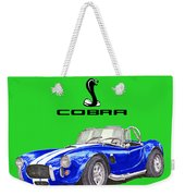 1966 Snake On A Shirt Weekender Tote Bag