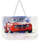 1967 Alfa Romeo Gta 1600 Groupe 5  Weekender Tote Bag