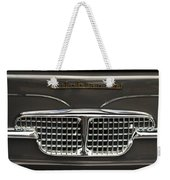1967 Autobianchini Special Italy Grille Weekender Tote Bag