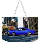 1967 Chevelle 'city-fied' Malibu Weekender Tote Bag