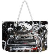 1967 Chevrolet Chevelle Ss Engine Weekender Tote Bag