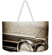 1967 Chevrolet Chevelle Ss Super Sport Emblem -0413s Weekender Tote Bag