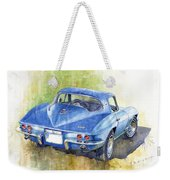 1967 Chevrolet Corvette C2 Stingray  Weekender Tote Bag