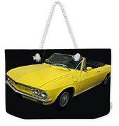 1967 Chevy Corvair Monza Weekender Tote Bag