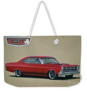 1967 Ford Fairlane Gt Weekender Tote Bag