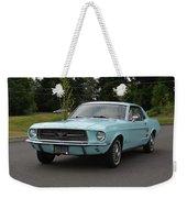 1967 Ford Mustang Watts Weekender Tote Bag