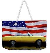 1967 Plymouth Belvedere Tribute Weekender Tote Bag