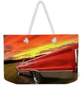 1967 Plymouth Satellite Convertible Weekender Tote Bag