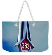 1967 Plymouth Saturn Hood Ornament Weekender Tote Bag
