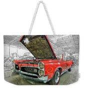 1967 Pontiac Gto American Muscle Car Weekender Tote Bag