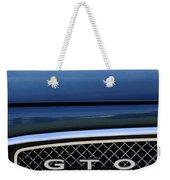 1967 Pontiac Gto Grille Emblem Weekender Tote Bag