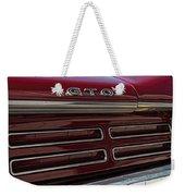 1967 Pontiac Gto Logo Weekender Tote Bag