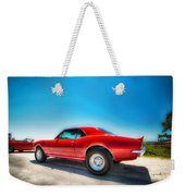 1967 S S Camaro_hdr Weekender Tote Bag