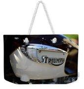 1967 Triumph Gas Tank 2 Weekender Tote Bag
