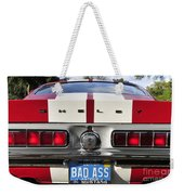 1968 Bad Ass Shelby Mustang Weekender Tote Bag by David Lee Thompson