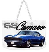 1968 Camaro Weekender Tote Bag
