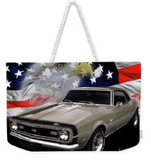 1968 Camaro Ss Tribute Weekender Tote Bag