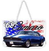 1968 Camaro Stars And Stripes Weekender Tote Bag