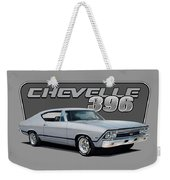 1968 Chevrolet Chevelle Weekender Tote Bag