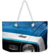 1968 Chevy Camaro Ss 396 Weekender Tote Bag by Gordon Dean II